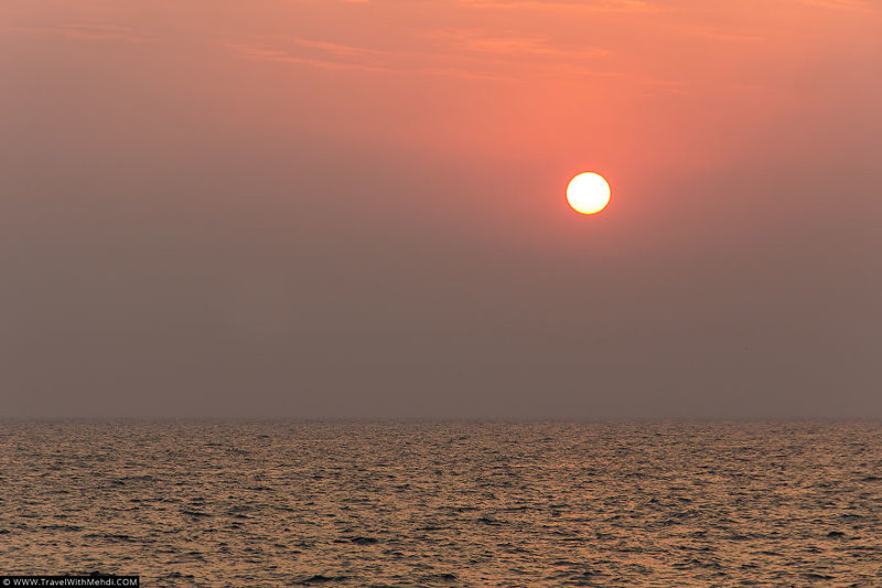 На закате иран, курорт, остров, персидский залив, рай на земле, туристическая столица