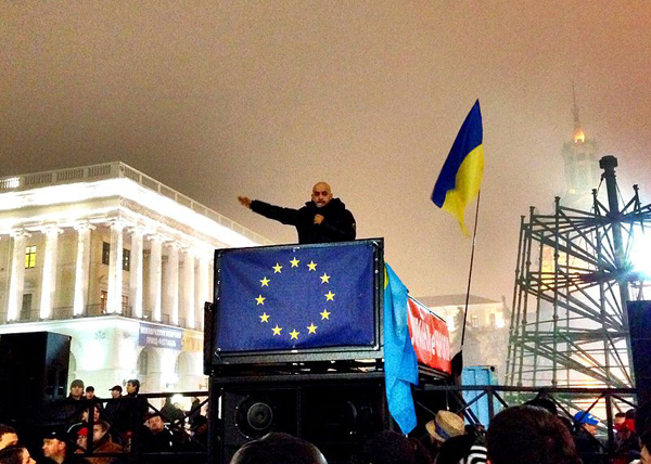 Мустафа Найем, евромайдан, 2013 год, Киев|Фото: wikipedia.org