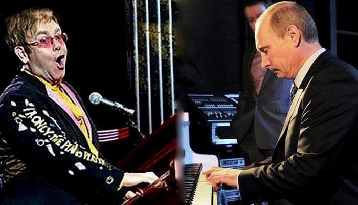Элтон Джон продолжает готовиться к встрече с Владимиром Путиным