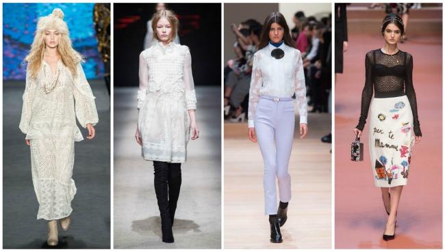 Модные Блузки Зима 2017