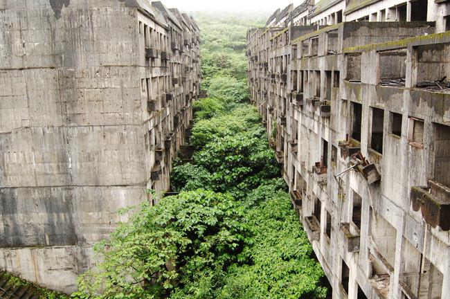 Заброшенная деревня на Тайване заброшенное, природа, разрушение, цивилизация