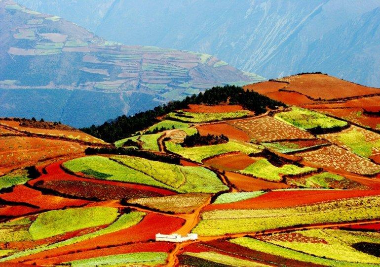Нетронутая красота земель Дончуань.