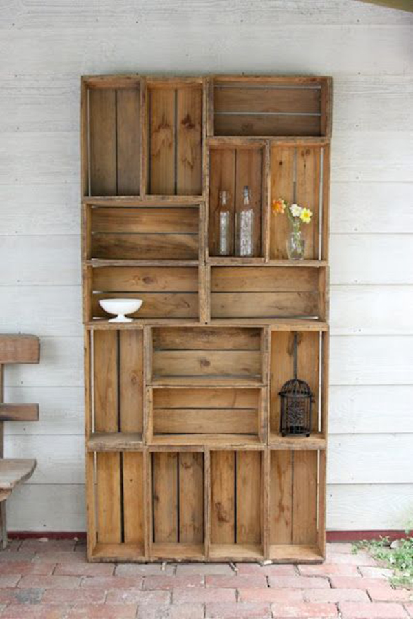 Декор деревянного шкафа