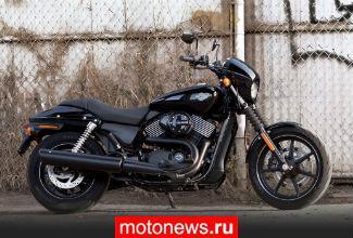 В РФ отзывают 11 мотоциклов Harley-Davidson