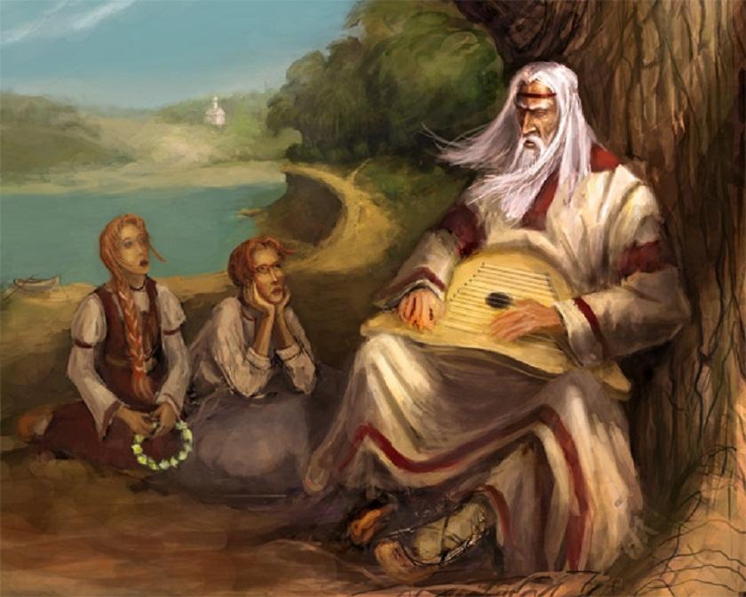 Боян — древнерусский поэт-певец.