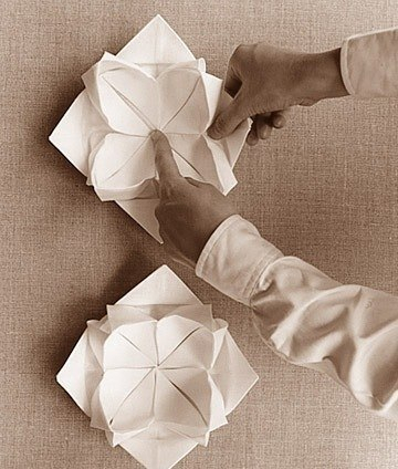 Galche: Красивое оформление салфеток