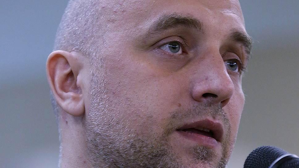 """Захар Прилепин: """"При всем уважении, Навальный и Ходорковский — маргинальные политики"""""""