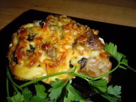 Рецепты свинины сыром фото