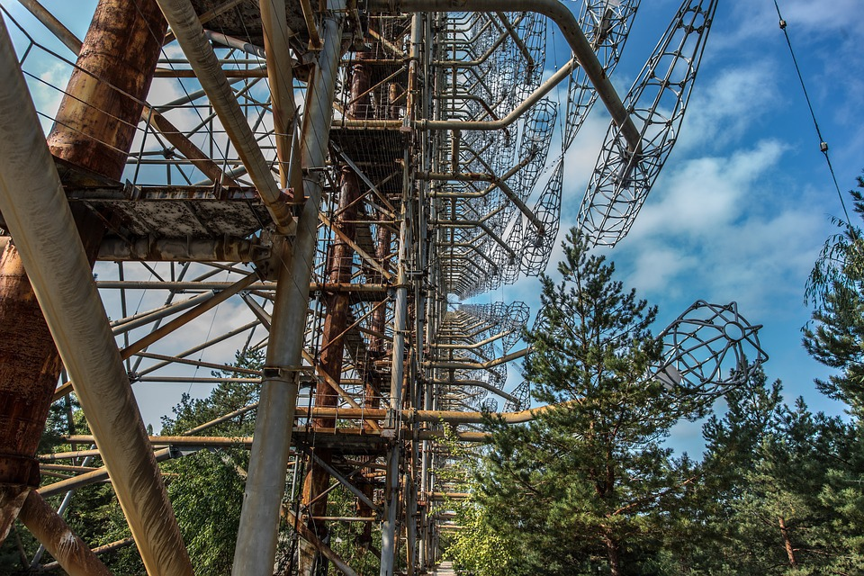 В зоне отчуждения Чернобыля …