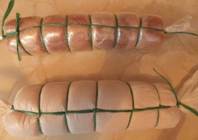 Рулет мясной, для тех кто как и я не ест колбасу.