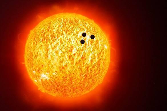 К Солнцу направляется громад…