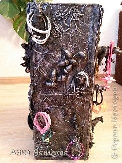 Мастер-класс Хлам-декор  предмет для нужных вещей  Материал бросовый фото 41