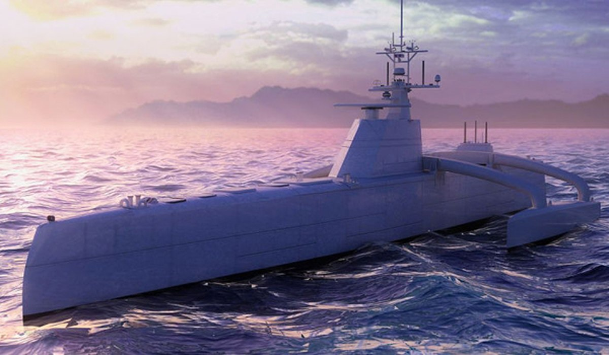 Секретная американская программа безэкипажного надводного боевого корабля