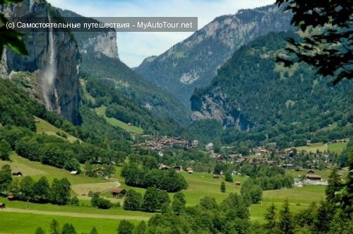Лаутербруннен – долина 72-х водопадов