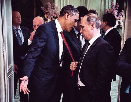 Путин выкинул Обаму из рейтинга мировых лидеров AFP