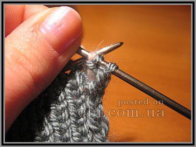 как спрятать протяжки ниток по краям вязания? (на примере полосатого шарфа)