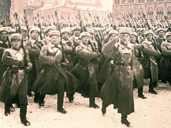 Красная Армия - взгляд со стороны противника