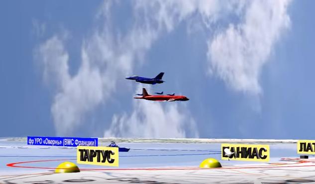 Минобороны опубликовало запись брифинга и 3D-видео катастрофы Ил-20 ВКС России у побережья Сириипо