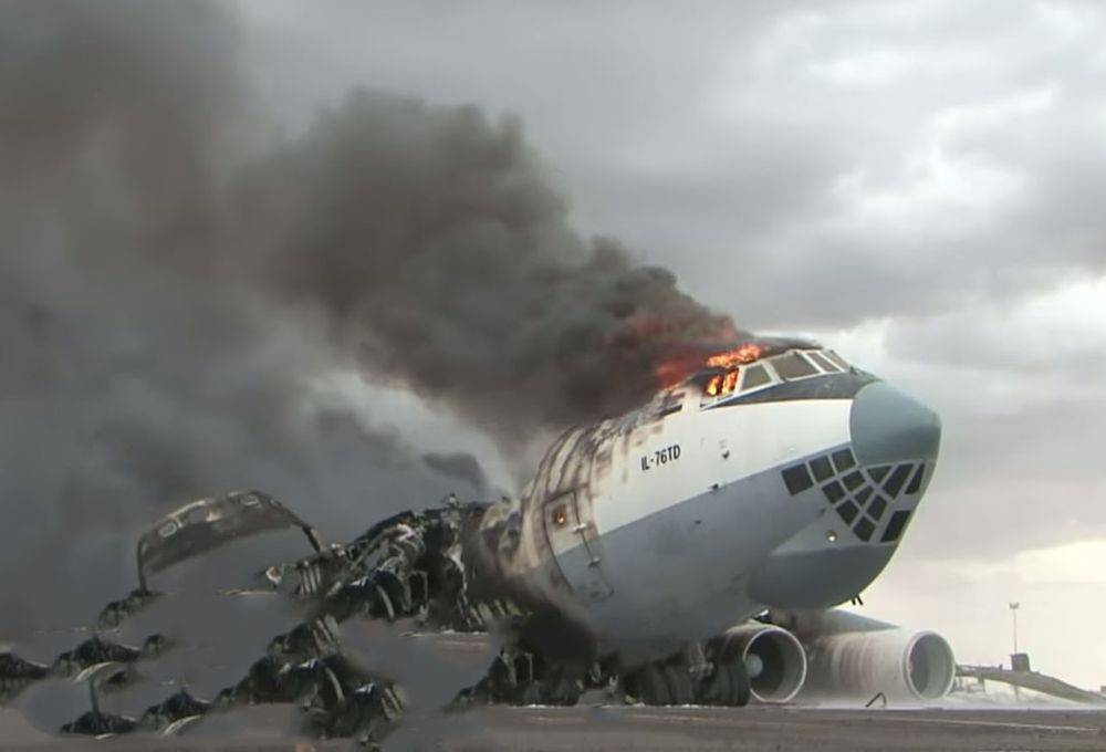 Уничтожение украинских Ил-76 в Ливии