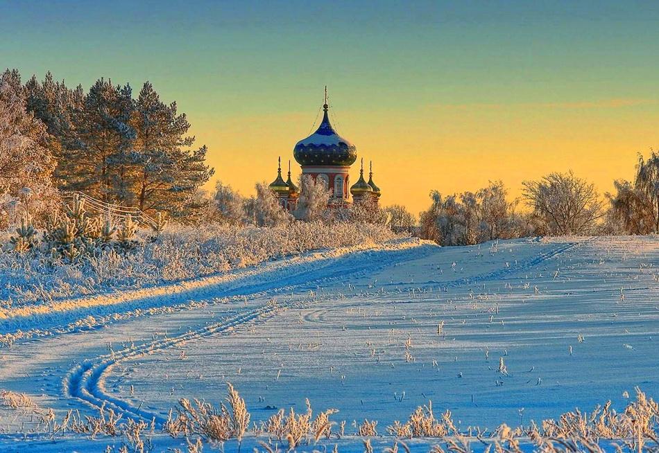 Потрясающие  фотографии зимней природы зима, природа