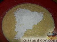 Фото приготовления рецепта: Пасхальный кулич без замеса - шаг №13