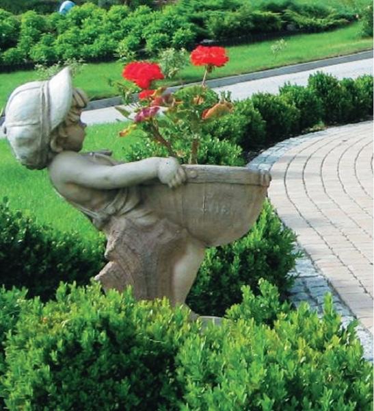 Скульптуры для сада своими руками фото