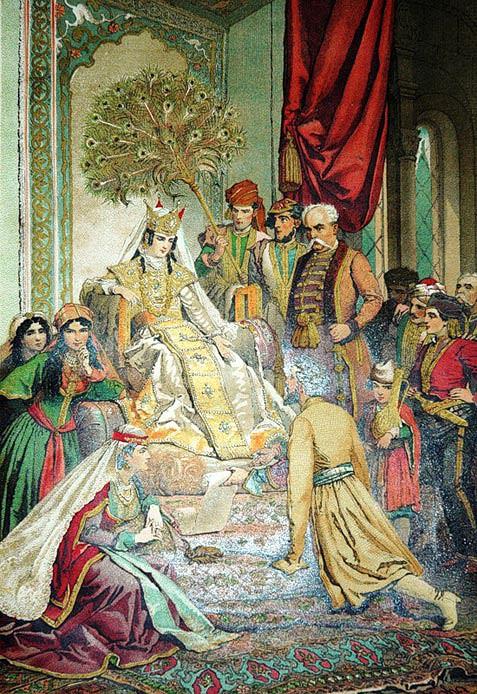 Царица Тамар – Шота Руставели