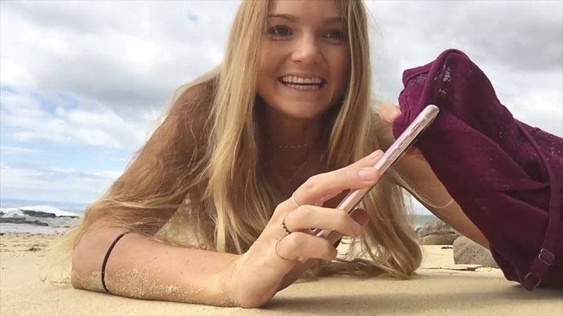 Звезда Instagram c 1,3 млн подписчиков учит делать профессиональные селфи на смартфон