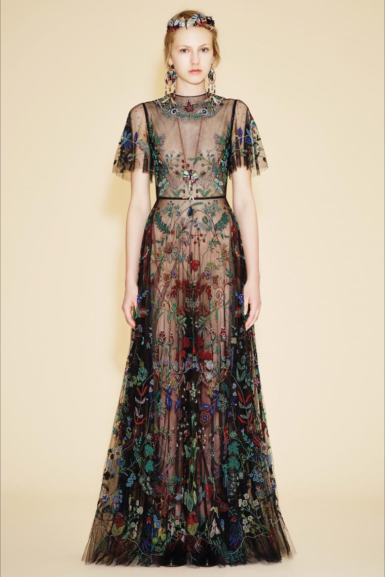 Платье старые модные