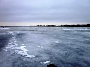 Зимняя рыбалка в Астрахани