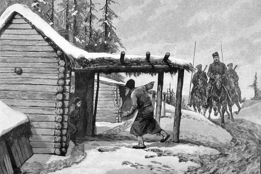 Как изымали хлеб у крестьян в годы Первой мировой войны