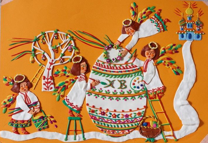 Я леплю из пластилина...Изумительные картины Татьяны Бариновой