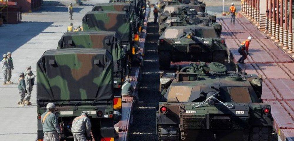 Freie Presse: сколько американских танков перебрасывают через их страну в Прибалтику и Польшу — немцам знать не положено