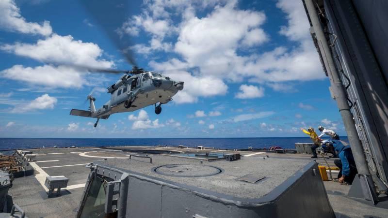 """Сообщается об инциденте с БПК """"Адмирал Виноградов"""" и крейсером ВМС США"""