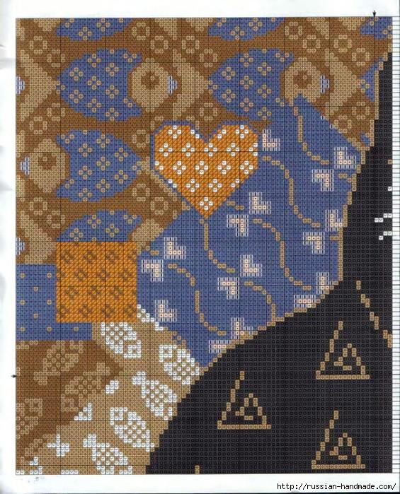 Декоративные подушки с КОШКАМИ. Вышивка крестом (7) (565x700, 438Kb)