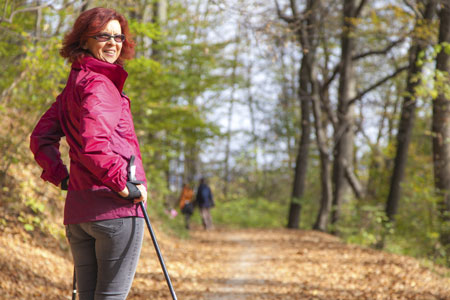 Cкандинавская ходьба с палками