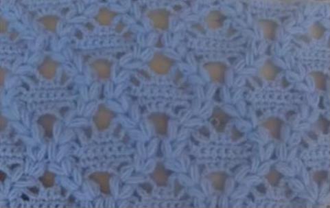 Красивые узоры для вязания пледов, шалей и палантинов. 5 видео