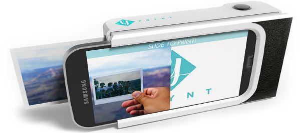 Prynt: чехол для смартфона со встроенным принтером