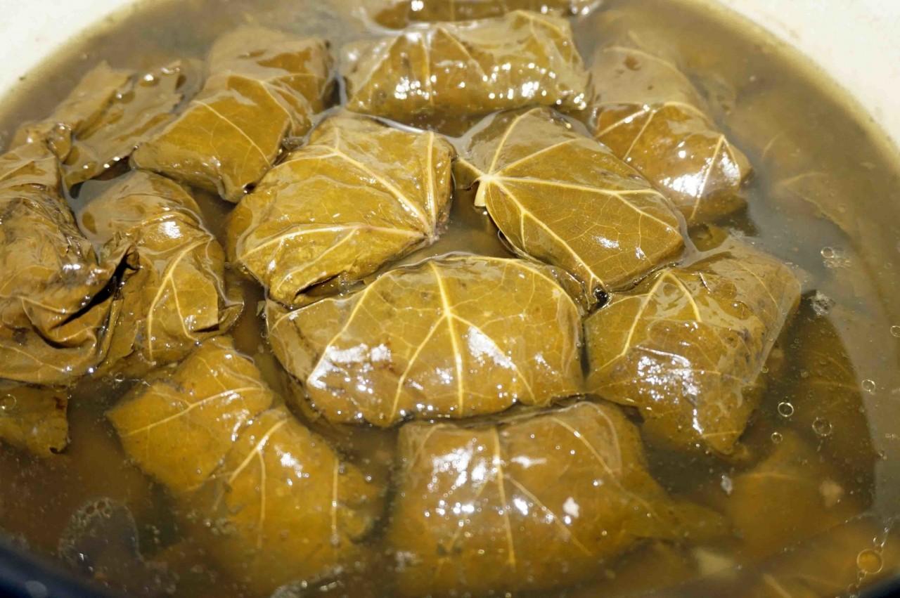 Долма в виноградных листьях рецепт в мультиварке рецепт с пошагово в