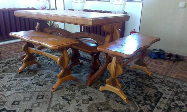 скамейки к столу