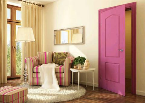 Сочетание цветов дверей и пола