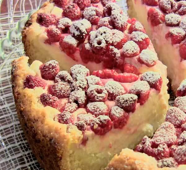 Цветаевский пирог с малиной рецепт с фото