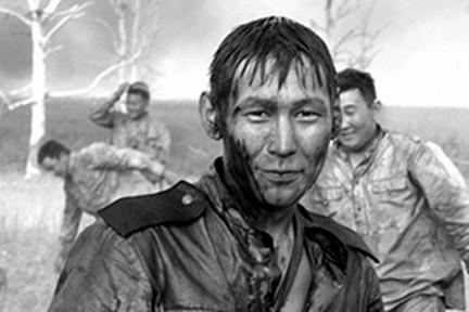 Военный фильм про Великую Отечественную войну.  Снайпер Саха