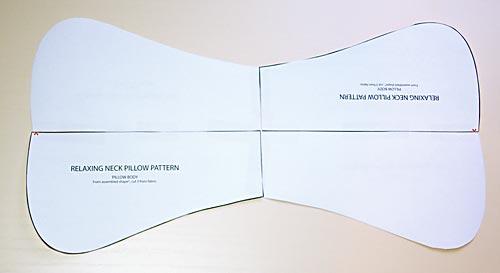 Подушки ортопедические своими руками выкройки фото схемы