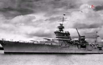 """На дне Тихого океана нашли """"проклятый"""" американский крейсер Indianapolis"""