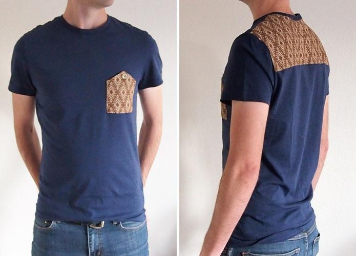 Переделка мужской футболки (Diy)