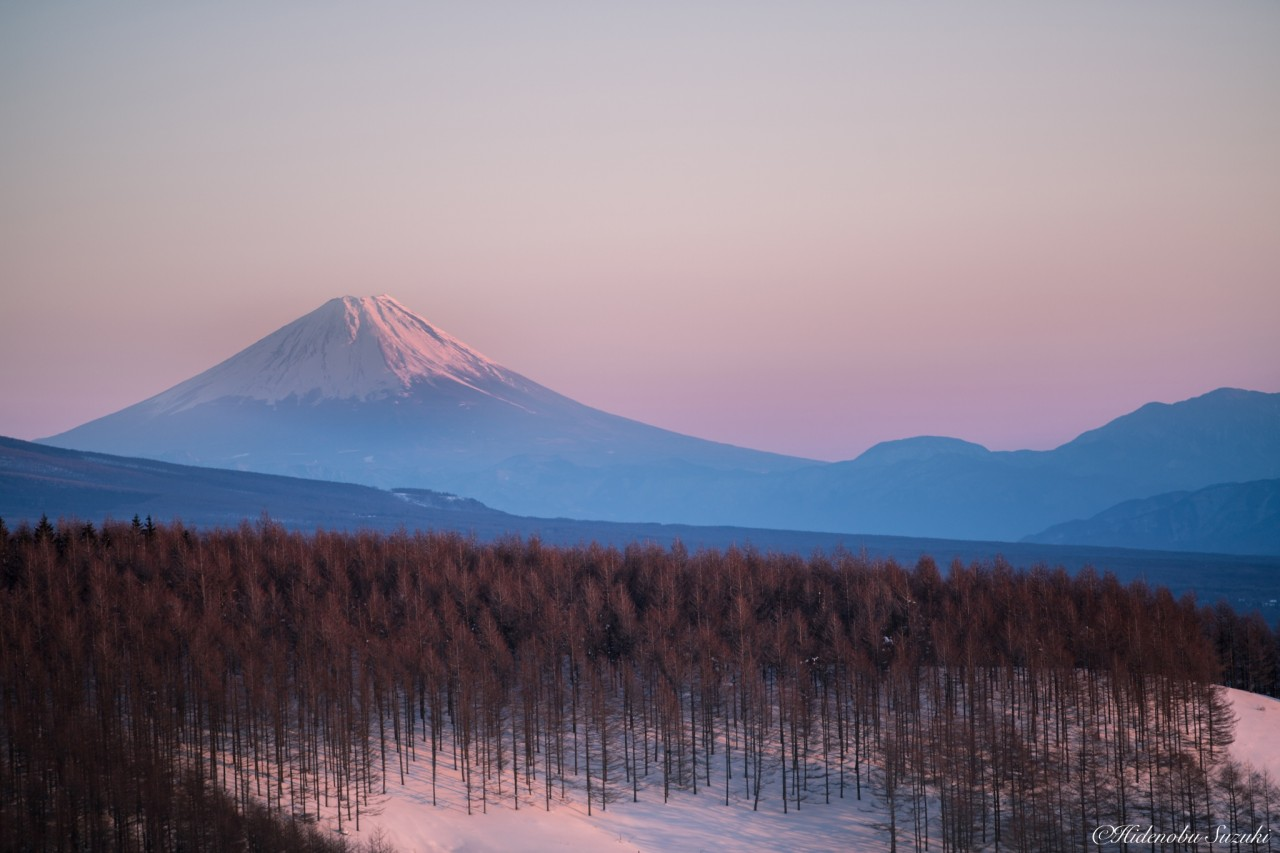 Фотография Twilight Mt Fuji автор Hidenobu Suzuki на 500px