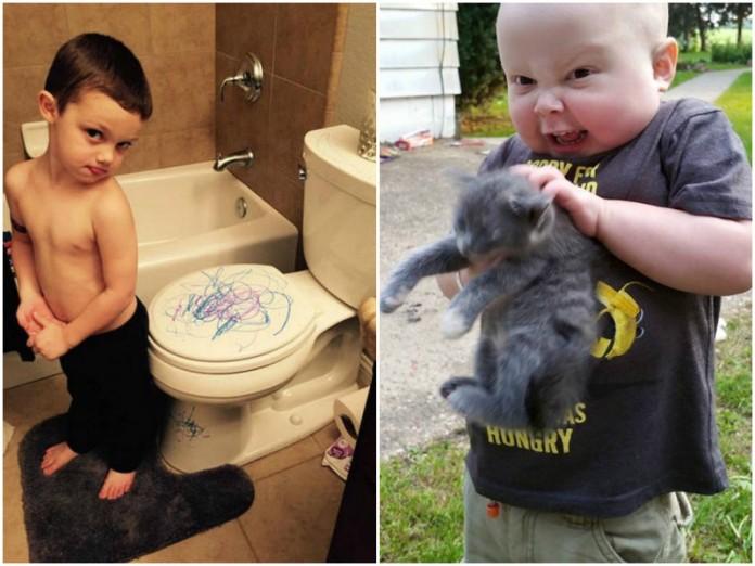 Наглядные примеры того, что дети – это СУМАСШЕДШИЕ ЛЮДИ!