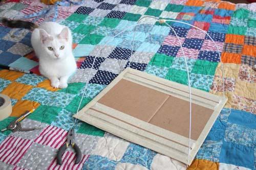 718 Как сделать дом для кота