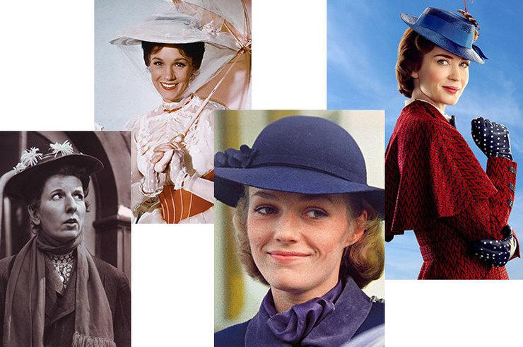 Актрисы, которые играли Мэри Поппинс